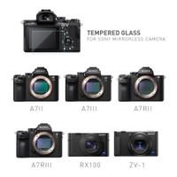 Tempered Glass for Sony ZV-1 A7ii A7iii A9 A7 A7S A7R RX100 Anti Gores