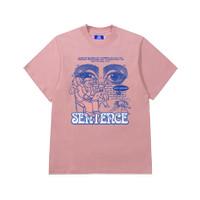 Sentence - Society Surveillance Tee - Peach