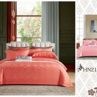 Bedcover sprei set tencel jacquard original 200x200 t.40cm