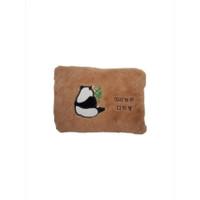 Bantal Panas Penghangat Terapi / Heating Pad / Hot Water Bag Lucu - Panda Coklat