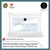 KNUTS Microfiber Goose Down - Bantal Hotel Bulu Angsa Sintetis