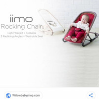 Iimo rocking chair imoo bouncer rockingchair bouncer baby chair kursi
