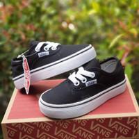 sepatu sekolah anak vans authentic bw size16-35