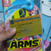 arms nintendo switch reg usa/mde