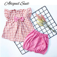 ABIGAIL SUIT setelan anak perempuan baju anak baju bayi BABEEBABYSHOP