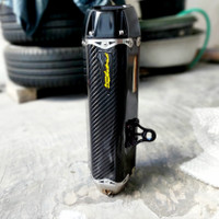 Knalpot Two Brother's Tarmac Full Carbon Yamaha Xmax atau moge