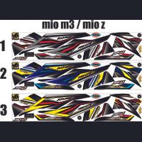 STICKER MIO M3 VARIASI STRIPING THAILOOK MOTOR MIO M3 / MIO Z