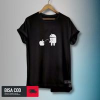 Kaos Distro T-Shirt Pria Wanita Kaos Distro Bergambar Iphone Android