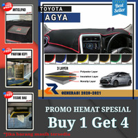 Alas cover dashboard mobil Toyota New Agya 2020-2021/Cover dashboard