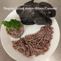 Ayam Hitam Cemani Giling/Black Chicken Ground