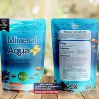 Mineral Tablet/Garam Laut/Ikan Mineral Tablet Aqua Plus Net 280 Gram