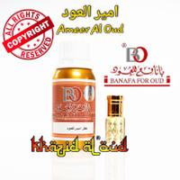 Minyak Wangi Ameer Al Oud Banafa For Oud Asli Arab Saudi - 3ml