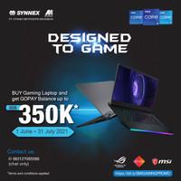 MSI GF63-10SCSR-677 I7-10750H 8GB 512GB SSD GTX1650TI 4GB WIN10 BLACK
