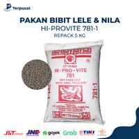 Pelet Pakan Bibit Ikan Lele Nila 781-1 Per 5kg