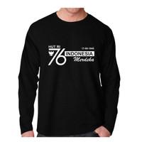 Kaos Pria HUT 76 Oblong Panjang, T-shirt Distro Baju Distro Pria Keren