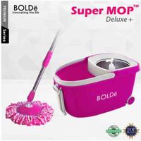 Super Pel Mop Bolde Deluxe - Roda Stainless - Alat Kebersihan Rumah