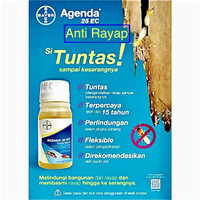 Agenda 25 EC Obat Rayap - Anti Rayap Rumah - Bangunan isi 100ml Bayer