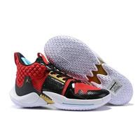Sepatu Basket Nike Air Jordan Why Not Zero 2 Red