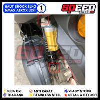 Baut Probolt Shock Belakang Aerox Probolt Thailand Gold Blue