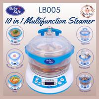 BABYSAFE LB005 Steamer 10-in-1 Baby Safe Sterilizer Botol Food Maker