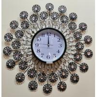 Jam Dinding Art Crystal AYP-1140 Size Diameter 60cm - Made In turki