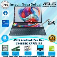 ASUS ZenBook Pro Duo UX482EG i7-1165G7 16GB 512GB SSD VGA W10H OHS 2Yr