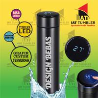 Tumbler Led Suhu, Tumbler Custom, Tumbler Grafir, Thumbler Grafir K04