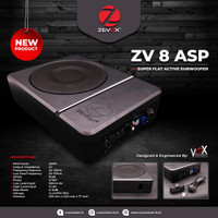 Subwoofer Slim Kolong Aktif ZEVOX ZV 8 ASP by Vox Research (8 inch)