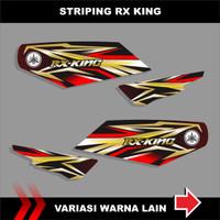 Decal / Sticker striping variasi RX king grafis