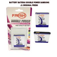 BATTERY BATERAI DOUBLE POWER SAMSUNG J1 ORIGINAL FRESH
