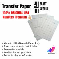 Transfer Paper 3G Jet Opaque A3 (ORIGINAL)