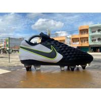 Soccer Nike Tiempo Legend VIII Elite SG - White Black
