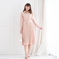 Hyorin Set Skirt Setelan Wanita Modis Kekinian Fashion Wanita Terlaris - Cream