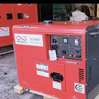 Genset 7500 watt - 9 kva 1 phase