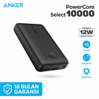 Powerbank Anker PowerCore Select 10000mAh Dual Port USB Type A - A1223