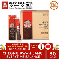 CHEONG KWAN JANG EVERYTIME BALANCE 30 SACHET POUCH KOREAN RED GINSENG