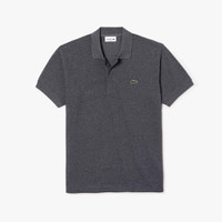 Baju Kaos Polo Shirt Lacoste Original - Dark Grey - 2