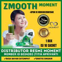 Zmooth Zegen Moment Minuman Diet & Detoks Original 100% BPOM 10 Sachet