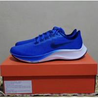 Sepatu Lari Nike Air Zoom Pegasus 37 Blue Original Running Shoes