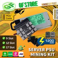 Server PSU Mining Kit 1200watt Platinum