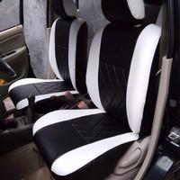 sarung jok mobil avanza // warna hitam putih // bahan verona