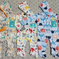 3 stel jumper hoodie Libby tutup kaki unisex newborn-6 Bulan.