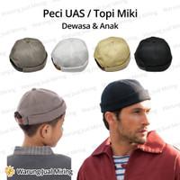 Peci UAS / Topi Miki Dewasa & Anak - Kupluk Kopiah Hat Mikihat Polos