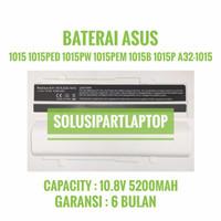 Baterai Asus Eee PC 1015 1015BX 1015CX 1015PEM 1016 WHITE