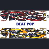 MOTOR BEAT POP FI STIKER THAILOOK HONDA ALL BEAT POP-VARIASI STRIPING