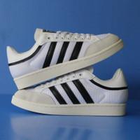 Sepatu Sneaker Adidas Casual Americana White Black Sepatu Wanita - White Black, 37