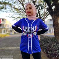 Baju kaos jersey baseball bisbol Arema Aremania murah drifit mboissam