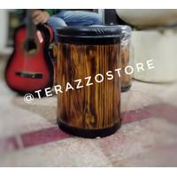 Gentong Kursi Barrel Kayu Jati
