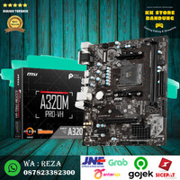 MB MOTHERBOARD MSI A320M PRO-VH AMD AM4 M2 HDMI S320M PRO VH M.2