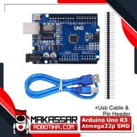 Arduino UNO R3 Atmega 328 Kabel Data Micro USB